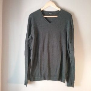 RW & Co Men's Grey Sweater   Cotton   Medium